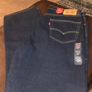NWT Men's Levi's 36x34 dark wash stretch